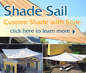 Retractable Awning And Shade Sail